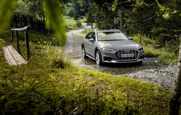Картинка вода, Audi, универсал, 2019, A4 Allroad Quattro