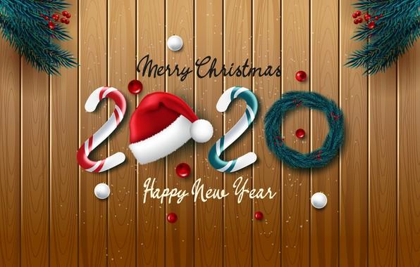Картинка ветки, Новый Год, хвоя, открытка, шаблон, 2020