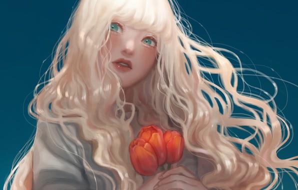 Картинка цветы, милая, рисунки