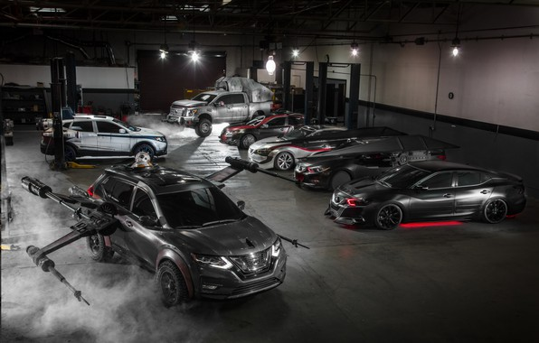 Картинка Star Wars, Nissan, cars, Maxima