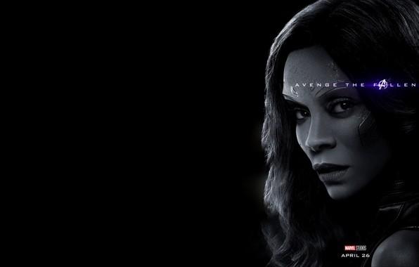 Картинка Гамора, Avengers: Endgame, Мстители Финал, Терпилы Таноса, Сестра Содома, Дочь-за -камушек