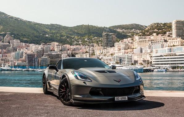 Картинка wheels, corvette, black, chevrolet, z06, AG-4986