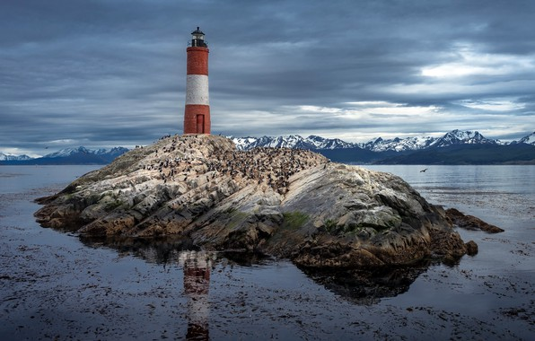 Картинка Argentina, Patagonia, Les Eclaireurs Lighthouse