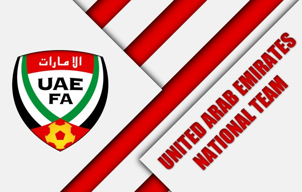 Картинка Logo, Soccer, FIFA, UAE, Emblem, AFC, United Arab Emirates National Football Team