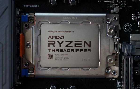 Картинка AMD, процессор, TR4, Ryzen, 1950X, Threadripper