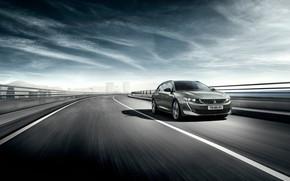 Картинка скорость, Peugeot, 2018, универсал, 508, SW GT