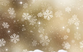 Картинка снежинки, фон, текстура