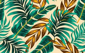 Картинка листья, фон, текстура, бежевый
