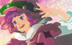 Картинка девушка, шляпа, Black Clover, Dorothy Unsworth