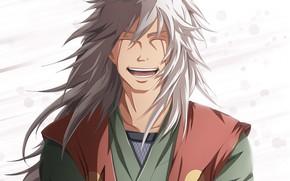 Картинка улыбка, Наруто, Naruto, Джирайя