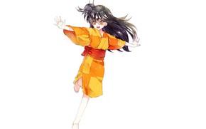 Картинка арт, девочка, Рин, Inuyasha, Инуяша