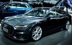 Картинка Audi, ауди, черная