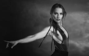 Картинка девушка, поза, портрет