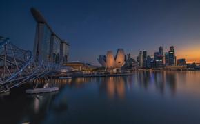 Картинка здание, Азия, Сингапур, отель, музей