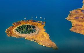 Картинка Нью-Йорк, США, Лонг-Айленд, залив Монибок, остров Риди