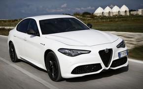 Картинка белый, Alfa Romeo, Giulia, 2020