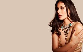 Картинка girl, hot, sexy, fashion, beautiful, model, pose, indian, actress, celebrity, bollywood, makeup, traditional, Jewelery, Amyra …