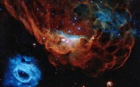 Картинка звезды, туманность, nebula