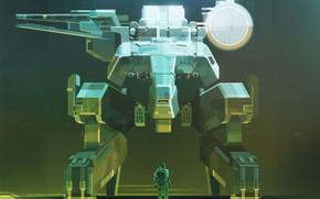 Картинка Стиль, Арт, Art, Style, Metal Gear, Digital, Illustration, Minimalism, Videogames, James Gilleard, by James Gilleard, …