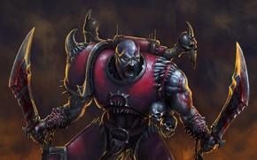 Картинка Kratos, God of War, Warhammer 40 000, blades of chaos