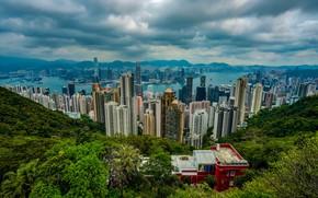 Обои Hong Kong, Сянган, Гонконг, КНР