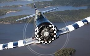 Картинка самолёт, T-6, учебно-тренировочный, Texan II