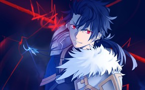 Картинка взгляд, доспехи, Lancer, парень, Fate / Stay Night, Судьба Ночь схватки