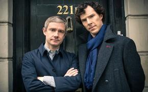Картинка Шерлок Холмс, Мартин Фримен, Бенедикт Камбербэтч, Sherlock, Sherlock BBC, Sherlock Holmes, Джон Ватсон, Джон Уотсон, …