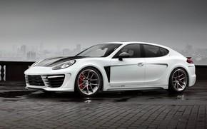 Картинка TopCar, Porsche Panamera, Гран Туризмо, пятидверный спортивный фастбэк, Stingray GTR