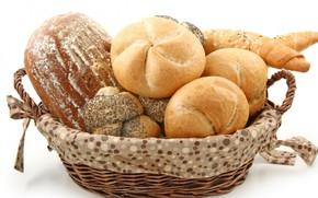 Картинка хлеб, булочка, рогалик
