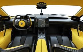 Картинка Koenigsegg, Суперкар, Интерьер, Gemera, Гемера