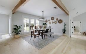 Картинка комната, интерьер, столовая