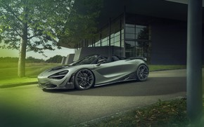 Картинка McLaren, spider, Novitec, 720S