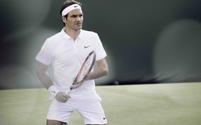 Картинка спорт, теннис, Роджер Федерер