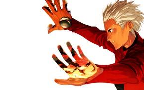 Картинка парень, арчер, Судьба ночь схватки, Fate / Stay Night