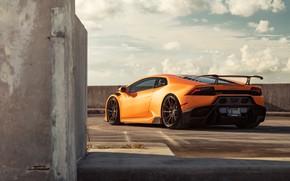 Картинка Lamborghini, суперкар, 2018, VAG, Huracan, Novara