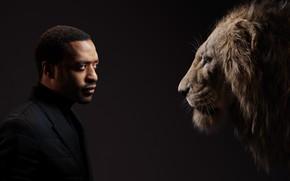 Картинка лев, мужчина, актёр, Король Лев, The Lion King