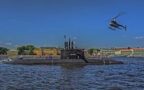 Картинка субмарина, Санкт-Петербург, проект 677