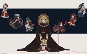 Картинка девушка, куклы, Touhou, тохо