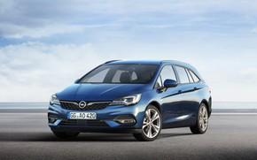Картинка Opel, Astra, Worldwide, Sports Tourer, 2019-20