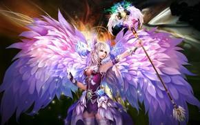 Картинка девушка, ангел, Perfect World