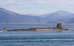 Картинка Англия, подводная лодка, атомная