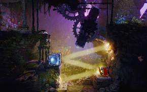 Картинка пейзаж, природа, фэнтези, Trine 4: The Nightmare Prince