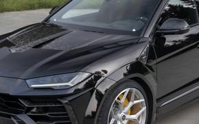 Картинка Lamborghini, передняя часть, кроссовер, Urus, Novitec, 2019