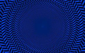 Картинка Линии, Фон, Тоннель, Иллюзия, madeinkipish, Оптическая иллюзия, Обман, Обман зрения