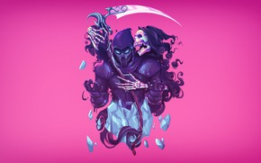 Картинка Art, Mortal Kombat, Noob Saibot, Heber Villar Liza, Mortal Kombat fan art, by Heber Villar …