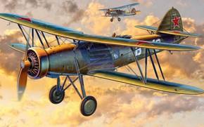 Картинка самолёт, одномоторный, двухместный, разведывательный, Š.328, Letov
