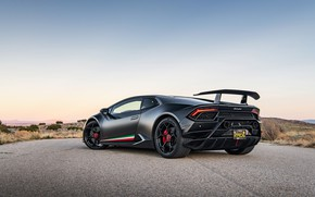 Картинка закат, вечер, Lamborghini, Performante, Huracan, 2020, VF Engineering