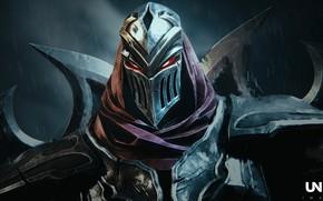 Картинка доспехи, шлем, Zed, Legends of Runeterra