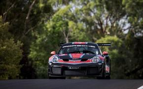 Картинка асфальт, 911, Porsche, 2019, GT2 RS Clubsport